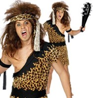Caveman - Adult Costume Fancy Dress