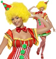 Boo Boo the Clown - Adult Costume Fancy Dress