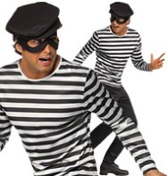 Bank Robber - Adult Costume Fancy Dress