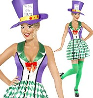 Lady Hatter - Adult Costume Fancy Dress