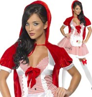 Red Riding Hood - Adult Costume Fancy Dress