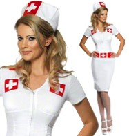 Knockout Nurse - Adult Costume Fancy Dress