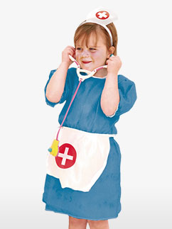 Nurse - Child Costume Fancy Dress