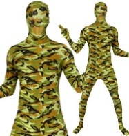 Morphsuit Camo - Adult Costume Fancy Dress