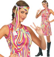 Groovy Girl - Adult Costume Fancy Dress