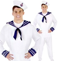 Sailor Male - Adult Costume Fancy Dress