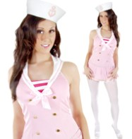 Sexy Sailor Pink - Adult Costume Fancy Dress