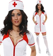 Sexy Nurse - Adult Costume Fancy Dress
