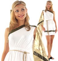 Roman Woman - Adult Costume Fancy Dress