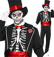 Day of The Dead - Adult Costume Fancy Dress