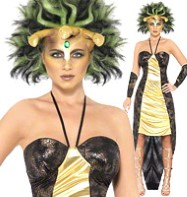 Medusa - Adult Costume Fancy Dress
