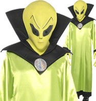 Alien Lord - Adult Costume Fancy Dress