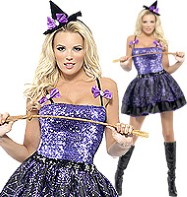 Glimmer Witch - Adult Costume Fancy Dress