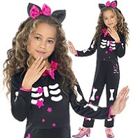 Hello Kitty Star Skeleton - Toddler Costume Fancy Dress