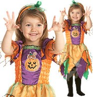 Pumpkin Witch - Toddler Costume Fancy Dress