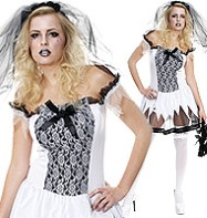 Sexy Teen Bride - Adult Costume Fancy Dress