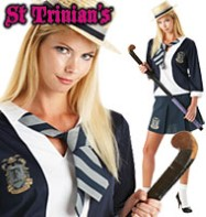 St. Trinians Classic - Adult Costume Fancy Dress