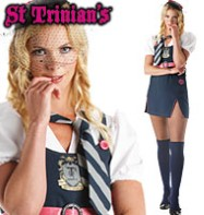 St. Trinians Posh Totty - Adult Costume Fancy Dress
