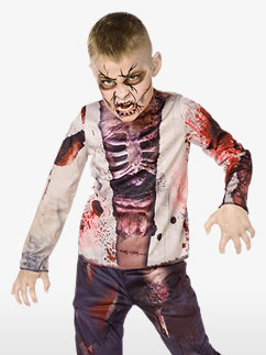 Zombie Boy 3D - Child Costume Fancy Dress