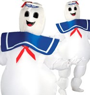 Ghostbuster Stay Puft - Adult Costume Fancy Dress