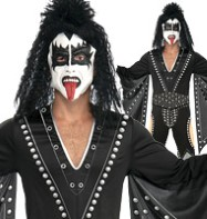 Kiss The Demon - Adult Costume Fancy Dress