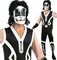 Kiss The Catman - Adult Costume Fancy Dress