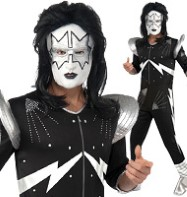 Kiss The Spaceman - Adult Costume Fancy Dress