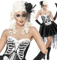 Skelly Von Trap - Adult Costume Fancy Dress