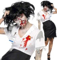 Office Zombie - Adult Costume Fancy Dress