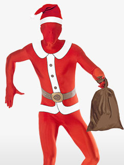 Santa Second Skin Suit Adult