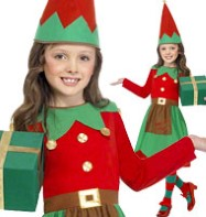 Santa's Little Helper - Child Costume Fancy Dress