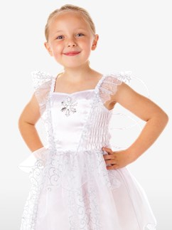 White Snowflake Fairy - Toddler Costume Fancy Dress