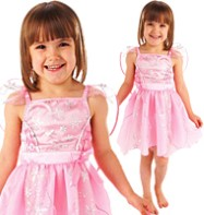 Angel Snowflake Pink - Child Costume Fancy Dress