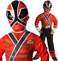 Power Rangers Red Samurai - Child Costume Fancy Dress