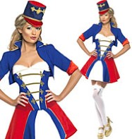 Naughty Nutcracker - Adult Costume Fancy Dress