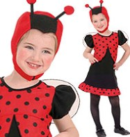 Dotty Ladybug - Toddler Costume Fancy Dress