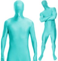 Morphsuit Turquoise - Adult Costume Fancy Dress