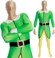 Elf Morphsuit - Adult Costume Fancy Dress