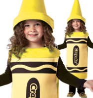 Crayola Crayon Yellow - Toddler Costume Fancy Dress