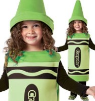 Crayola Crayon Green - Toddler Costume Fancy Dress