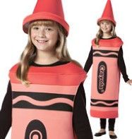 Crayola Crayon Red - Child Costume Fancy Dress