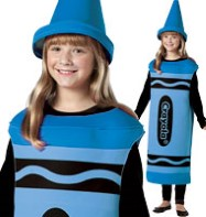 Crayola Crayon Blue - Child Costume Fancy Dress