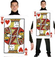 King of Hearts - Adult Costume Fancy Dress
