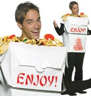 Chinese Takeout - Adult Costume Fancy Dress