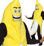 Flashing Banana - Adult Costume Fancy Dress