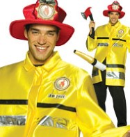 Fire Extinguisher - Adult Costume Fancy Dress