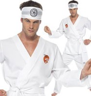 Karate Kid Daniel San - Adult Costume Fancy Dress