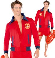 Baywatch - Adult Costume Fancy Dress