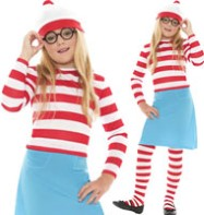 Where's Wenda - Child Costume Fancy Dress