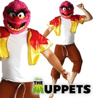 The Muppets Animal - Adult Costume Fancy Dress